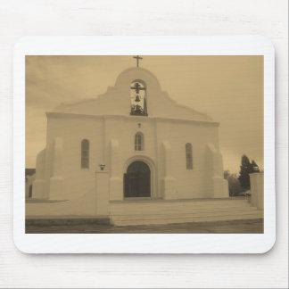 Iglesia católica vieja de la misión de El Paso - M Alfombrillas De Ratón