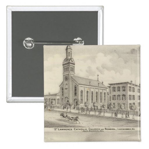 Iglesia católica y escuela de St Lawrence Pins