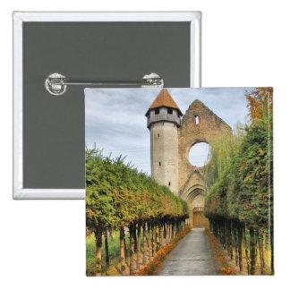 Iglesia cisterciense pin cuadrada 5 cm