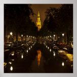 Iglesia con noche impresiones