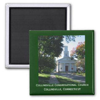 Iglesia congregacional de Collinsville Imanes
