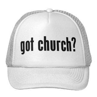¿iglesia conseguida? gorra