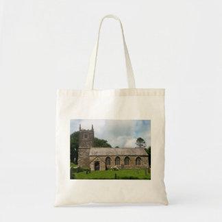 Iglesia Cornualles Inglaterra de Braddock Bolsa Tela Barata