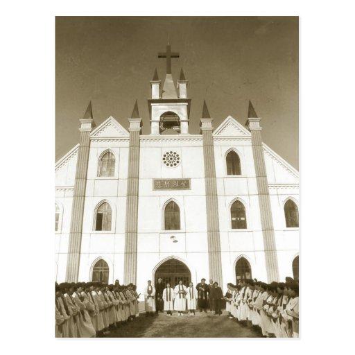 Iglesia cristiana en China Tarjetas Postales