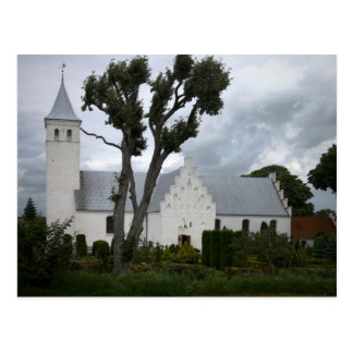 Iglesia cristiana Voldum Dinamarca Postal