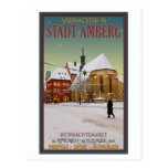 Iglesia de Amberg Weihnachten Postales