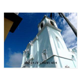 Iglesia De Candelaria--Tlacotalpan, Mexico Postcard