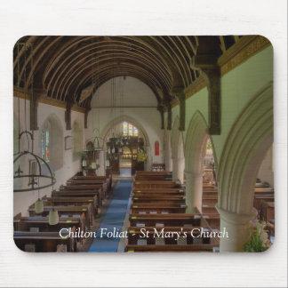 Iglesia de Chilton Foliat St Mary Mouse Pads