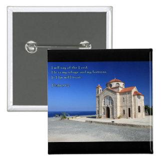 Iglesia de Chipre del 91:2 del salmo Pin