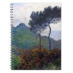 Iglesia de Claude Monet en Varengeville Libro De Apuntes Con Espiral