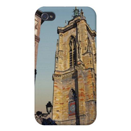 Iglesia de Colmar - de St Martins iPhone 4/4S Carcasas