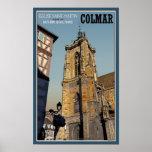 Iglesia de Colmar - de St Martins Posters