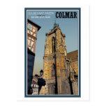 Iglesia de Colmar - de St Martins Tarjetas Postales