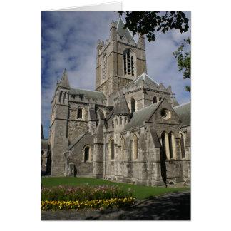 Iglesia de Cristo, Dublín, tarjetas de Irlanda y p