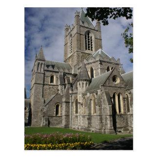 Iglesia de Cristo, Dublín, tarjetas de Irlanda y p Postales