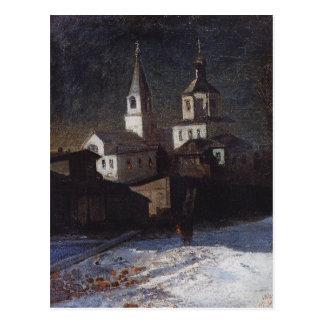 Iglesia de Elías el ordinario en Moscú por Aleksey Tarjeta Postal