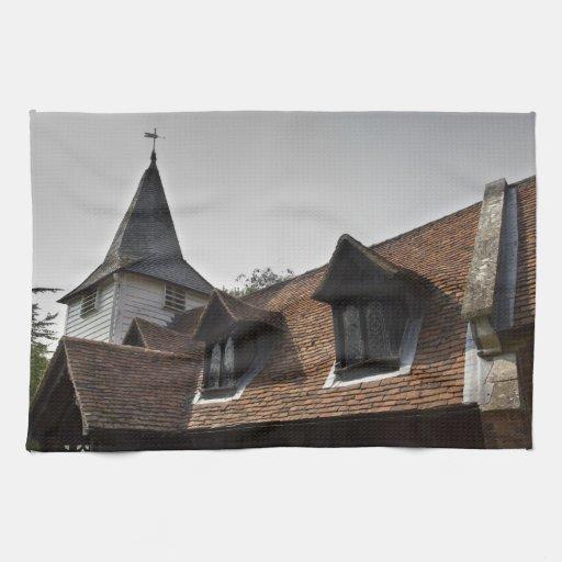 Iglesia de Greensted Toalla