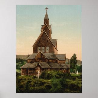 Iglesia de Heddal, Telemark, Noruega Impresiones
