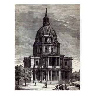 Iglesia de Invalides, conteniendo la tumba de Postales