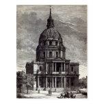 Iglesia de Invalides, conteniendo la tumba de Tarjeta Postal