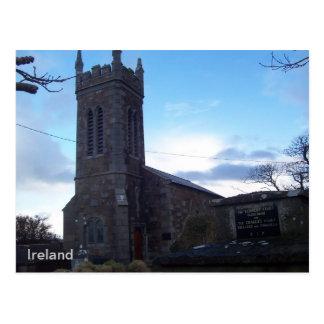Iglesia de Kilgobbin de la iglesia de Irlanda, Ker Tarjeta Postal