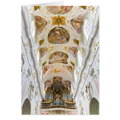 Iglesia de la abadía de St Jorge, Ochsenhausen, Felicitacion