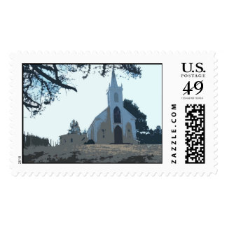 Iglesia de la bahía del Bodega Estampillas