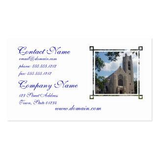 Iglesia de la catedral tarjeta de negocio