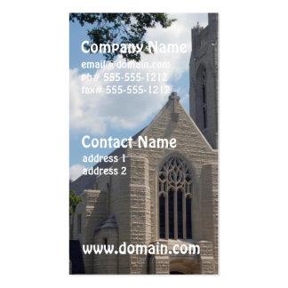 Iglesia de la catedral tarjetas personales