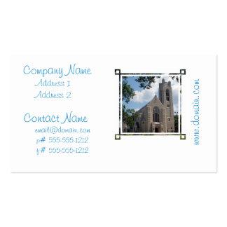Iglesia de la catedral tarjeta personal