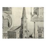 Iglesia de la Inmaculada Concepción, Waterbury Tarjeta Postal