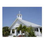 Iglesia de la isla tarjetas postales