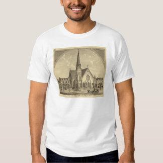 Iglesia de la libertad del este del corazón remeras