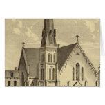 Iglesia de la libertad del este del corazón sagrad felicitacion