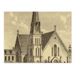 Iglesia de la libertad del este del corazón sagrad postales