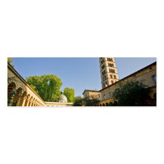 Iglesia de la paz tarjeta de visita