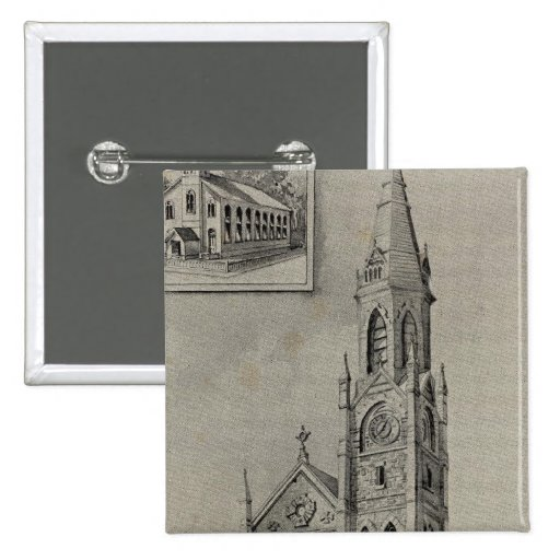 Iglesia de la suposición, Ansonia, conec Pin Cuadrado