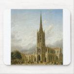 Iglesia de la tolerancia, Nueva York circa 1858 Alfombrillas De Raton