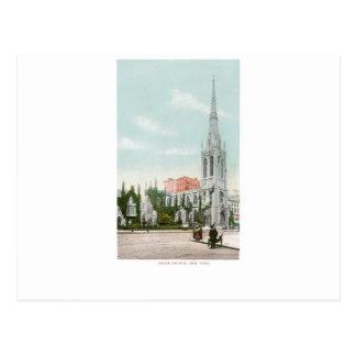 Iglesia de la tolerancia, Nueva York Tarjeta Postal
