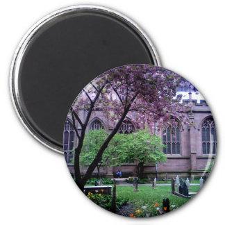 Iglesia de la trinidad Broadway NYC abril de 201 Imanes