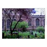 Iglesia de la trinidad, Broadway, NYC abril de 201 Felicitación