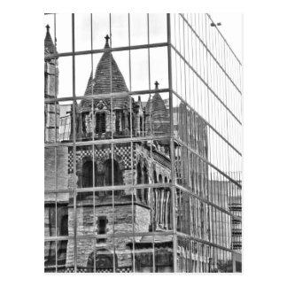 Iglesia de la trinidad en Boston Postales