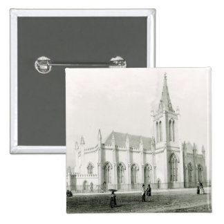 Iglesia de la trinidad, Puerto España Pin Cuadrado