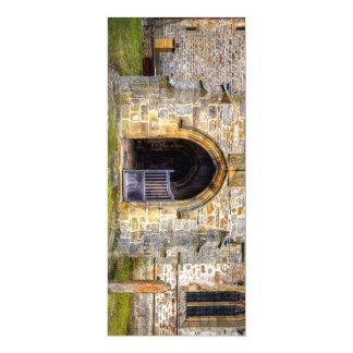 """Iglesia de la trinidad santa, Wensley Invitación 4"""" X 9.25"""""""