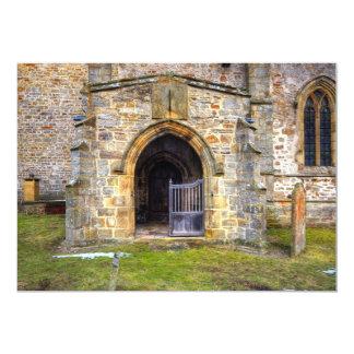 """Iglesia de la trinidad santa, Wensley Invitación 5"""" X 7"""""""
