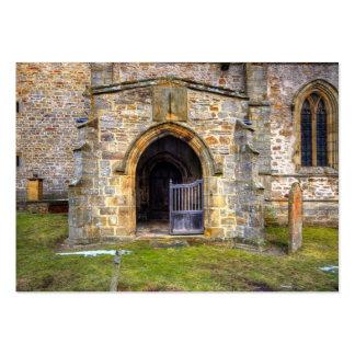 Iglesia de la trinidad santa, Wensley Tarjetas De Visita Grandes