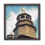 Iglesia de madera cajas de regalo de calidad