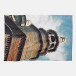 Iglesia de madera toallas
