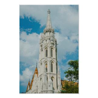 Iglesia de Matías, Budapest Impresion Fotografica