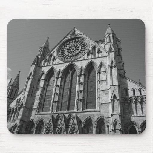 Iglesia de monasterio de York, cojín de ratón de Y Tapete De Ratón